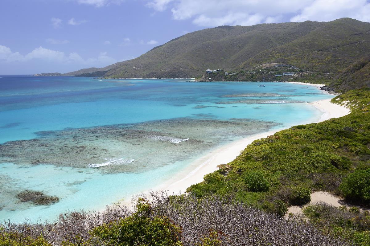 topless in the british virgin island