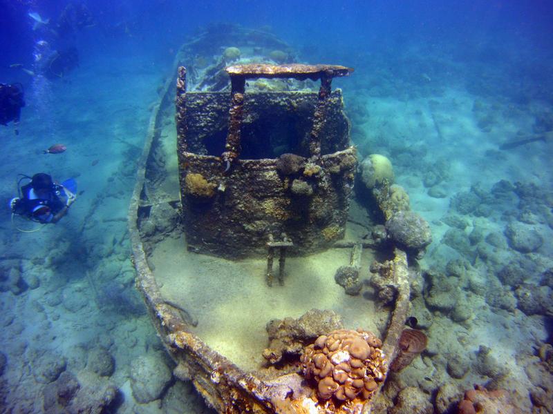 Karibik - Curacao - Rancho el Sobrino - Tauchplätze   Nautilus ...