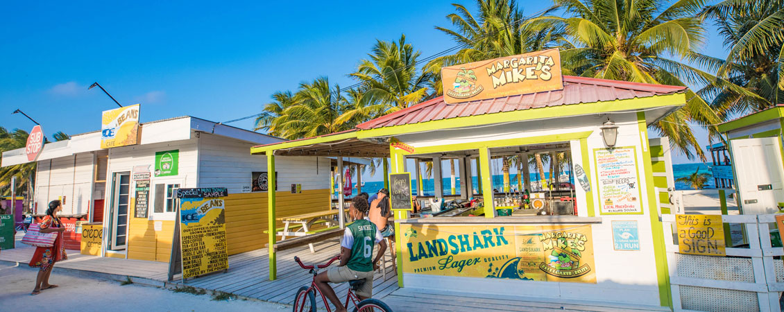 banner_belize_caye_caulker_backpacker_strand_karibik