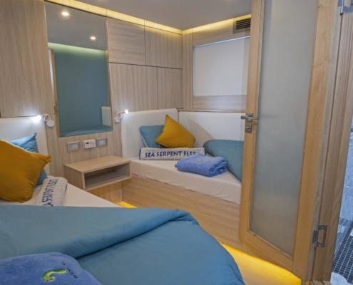 Sea Serpent Excellence - Lowerdeck Cabin