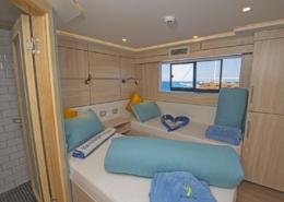 Sea Serpent Serena - Upper Deck Twin Cabin