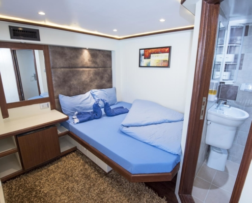 Sea Serpent - Upper Deck Double Bed Cabin