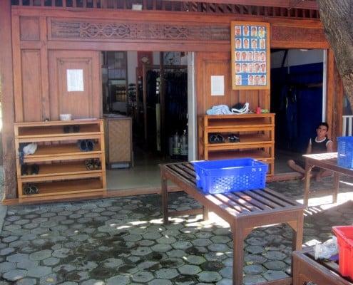 Tauchbasis Pondok Sari auf Bali