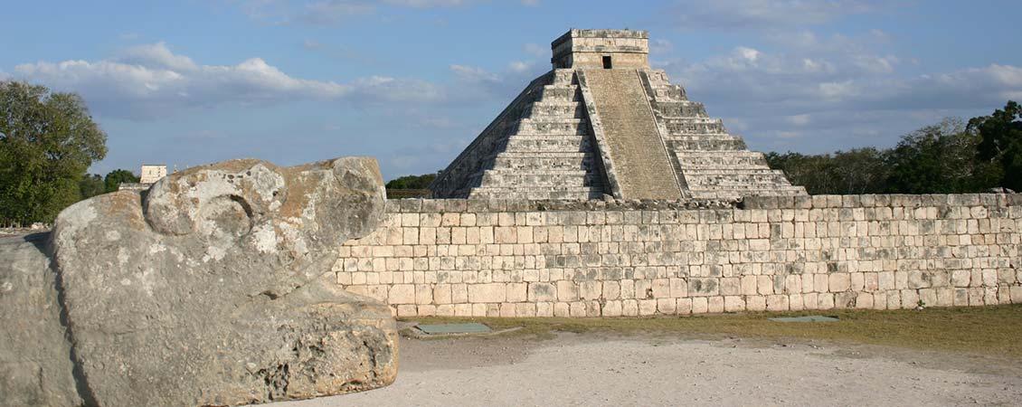 banner_karibik_mexiko_chitchen_itza_tempel_maya