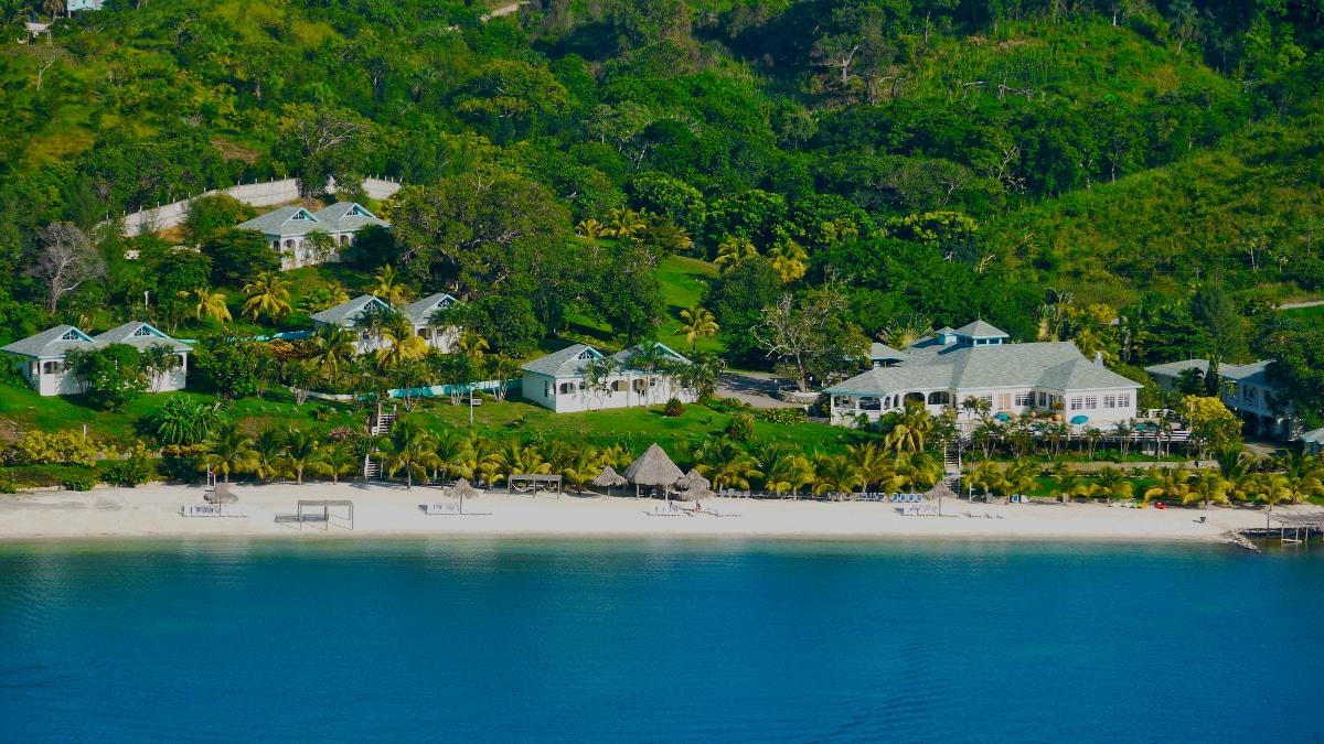 Karibik honduras roatan turquoise bay resort for Roatan dive resort